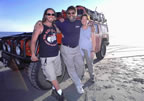 Coleen, Jess and me on the beach at San Quintin